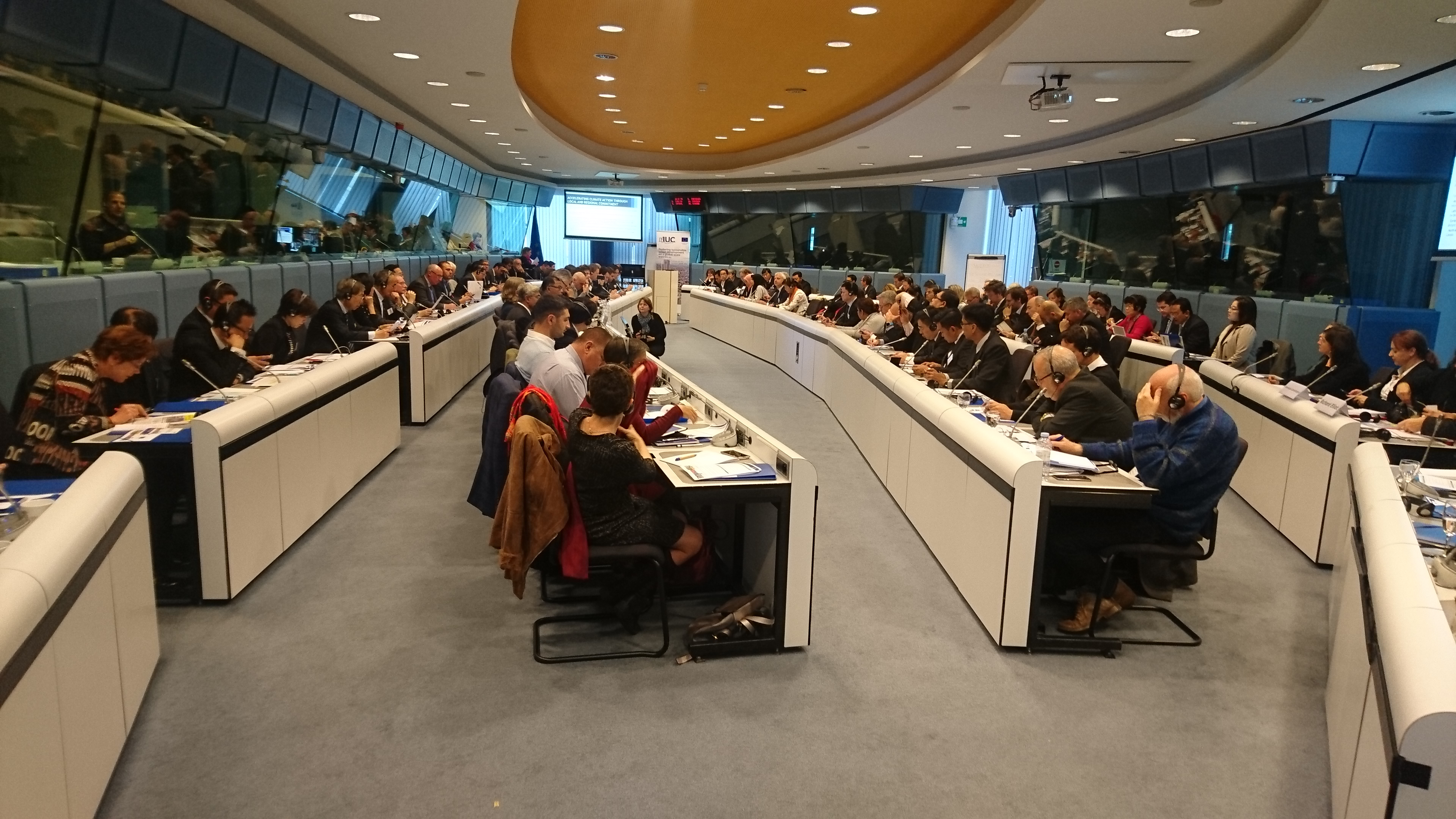 IUC Global Event in Brussels